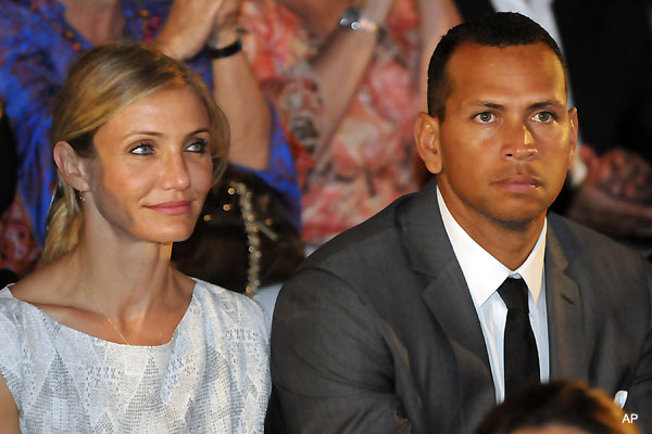 Report: A-Rod and Cam Diaz no longer buttering each other up