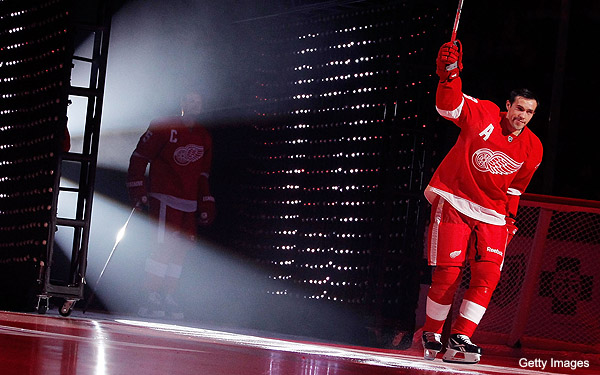 Puck Daddy chats with Pavel Datsyuk about Red Wings, realignment, working at Tim Horton's and Halloween
