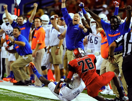 Boise State is (still) who we thought it was. Let the debate begin, again.