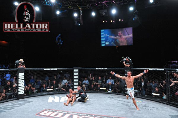 Pat Curran talks about Bellator, gameplanning and that KO