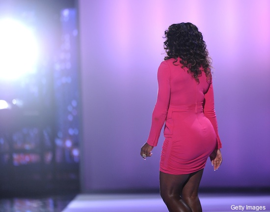 Photos: Serena Williams' plunging minidress steals show at ESPYs