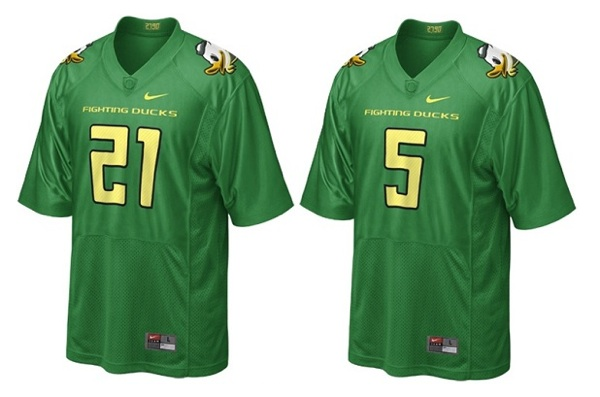Oregon's faux retro jerseys are still more new than old
