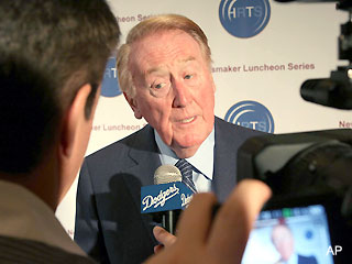 Petition aims to let Vin Scully call one more World Series