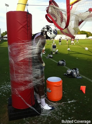 Video: Hazing is alive and well at Tennessee Titans camp