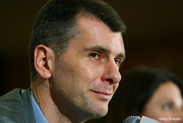 Mikhail Prokhorov will challenge Vladimir Putin for the Russian presidency