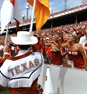 Longhorn-Sooner argument leaves two hospitalized, Oklahoma fan in critical condition