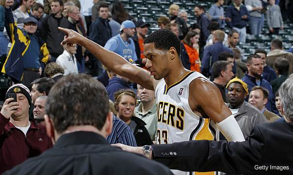 Danny Granger invited every Conseco Fieldhouse employee to dinner