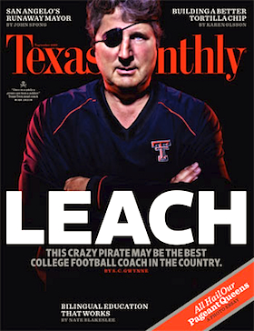 Mike Leach sets sail for Washington State, with guns up and baggage en tow