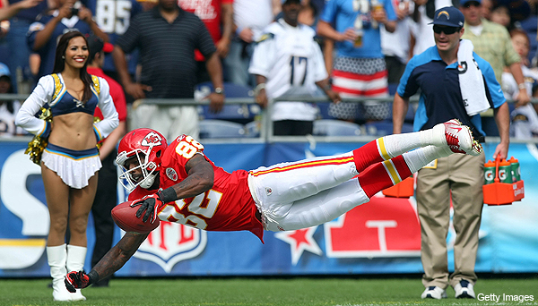 Dwayne Bowe blames lockout for Chiefs' slow start, NFL data proves otherwise
