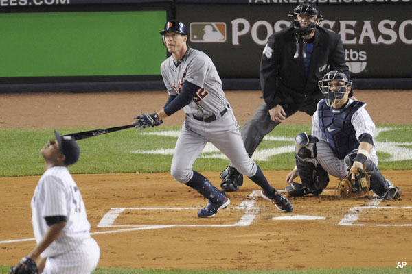 Escape from New York! Tigers claw way to ALCS with 3-2 win