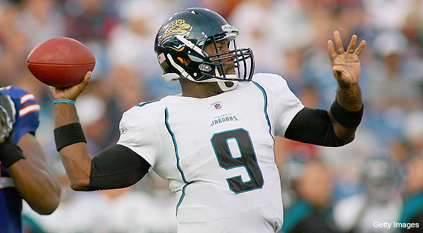 Jaguars cut QB David Garrard just days before season opener