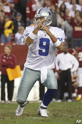 Mike Shanahan saved the Cowboys from a 15-yard penalty in OT