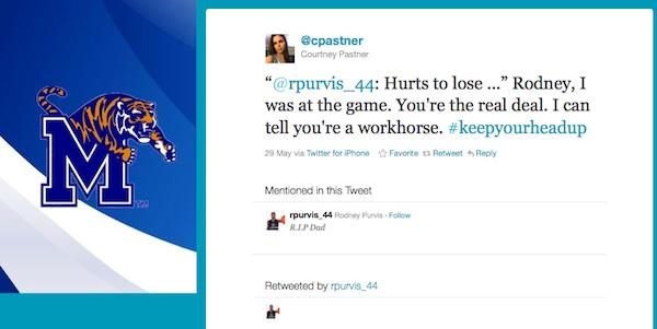 Courtney Pastner tweet