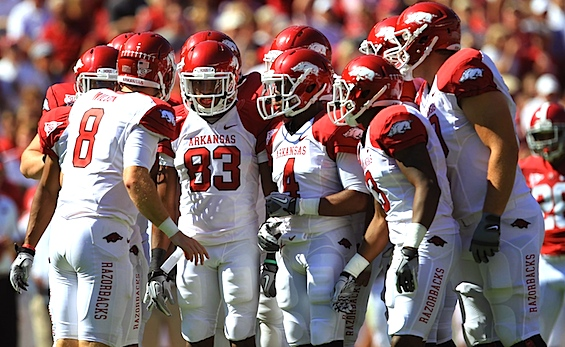 Upset Bait: Razorbacks pull the SEC welcome mat from under Texas A&M