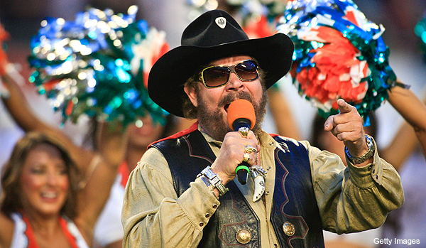 ESPN drops Hank Williams, Jr., Hank claims he quit with his 'rowdy friends'