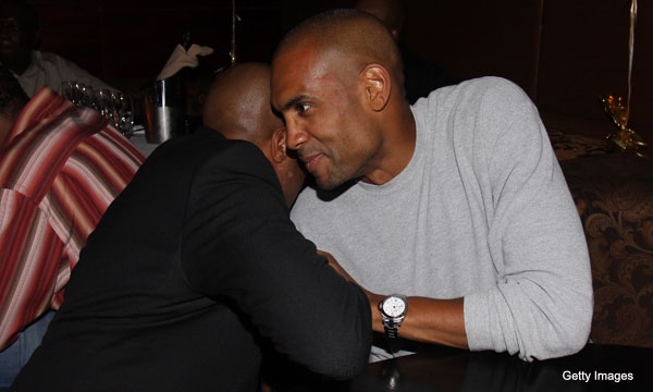 Did Allan Houston and the Knicks break any rules in courting Grant Hill?