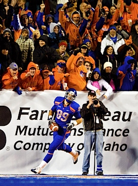 By Mountain West rule, Boise State's fall fashion is only kind of blue