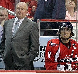 The Capitals rift: Boudreau wants Ovechkin to change, he refuses