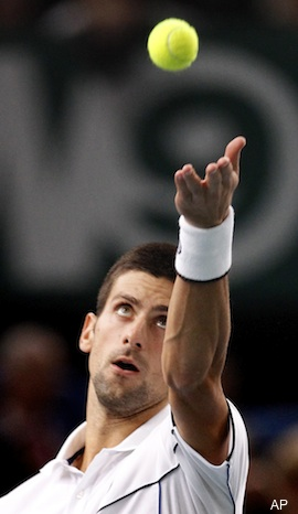 Djokovic earned $1.6 million for stepping onto court in Paris