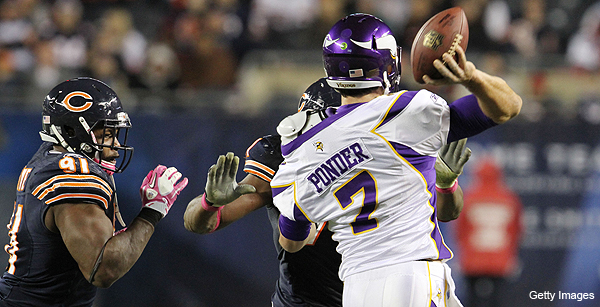 What the Tape Saw: Minnesota Vikings at Chicago Bears