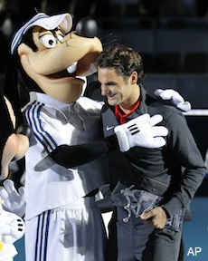 Roger Federer is the second-most respected man in the world