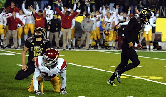 Night of the Hunter: USC brings the BCS ambush to Oregon