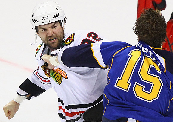 Will NHL's rivalry-friendly realignment increase fighting?
