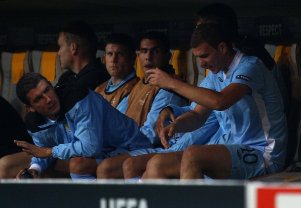 Carlos Tevez refuses to play, Mancini says he's finished at City