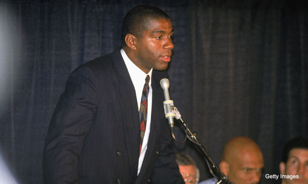 Recalling Magic Johnson's grim diagnosis, 20 years on