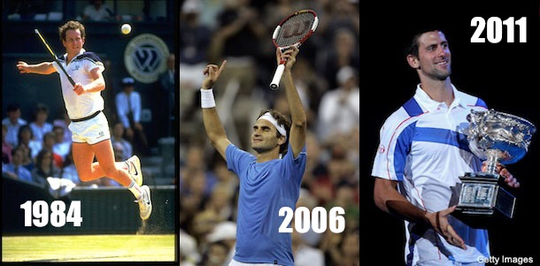 Mac, Fed or Novak? Who had the greatest season in tennis history?