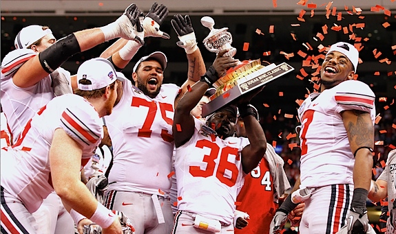 Ohio State vacates the premises: Players can keep the rings, but 2010 trophies must go
