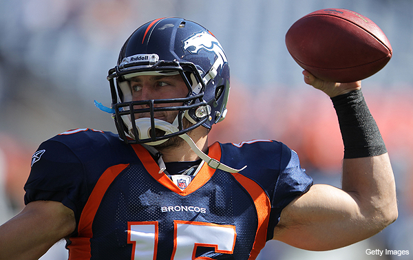 Billboard, baby: Tebow comes close to miracle comeback against Chargers