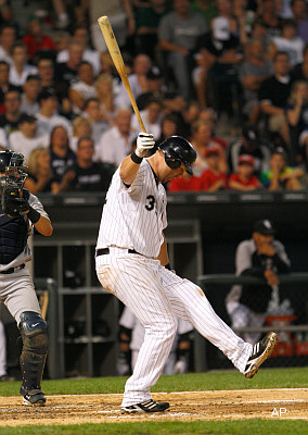 He's Dunn: White Sox should stick a fork in him against lefties