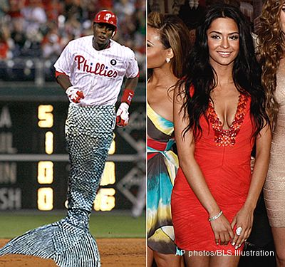 Phillies' Mayberry uses agent to try for date with 'Pirates' mermaid