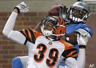 Meet the Detroit Lions wideout who's also a registered nurse