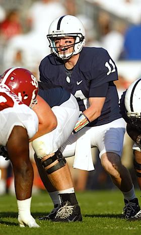 Penn State receiver hospitalizes Matt McGloin with locker room punch