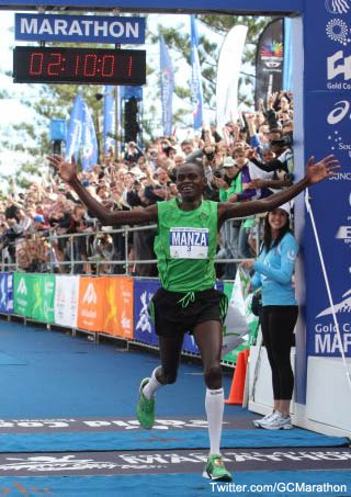 Missed it by that much: Marathoner loses $27K by one second
