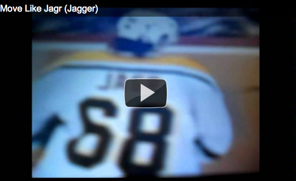 The 'Moves Like Jagr' video tribute, parody compendium