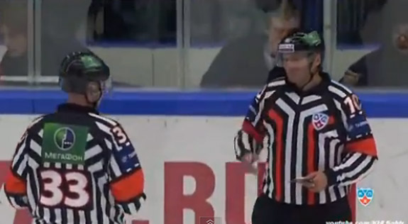 Fight Video: Another line brawl for KHL goons Vityaz Chekhov