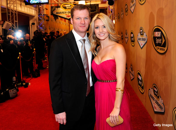 Ladies and gentlemen, Dale Earnhardt Jr.'s girlfriend