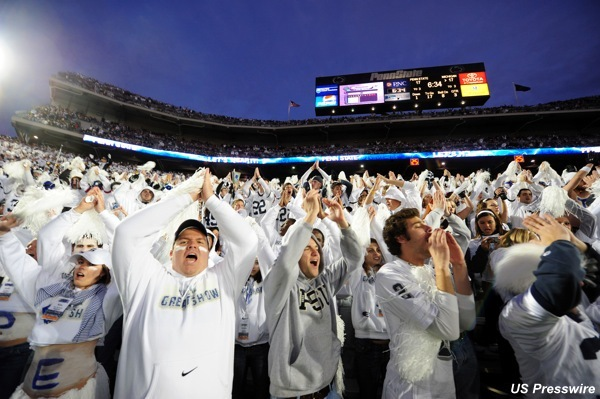 Penn State turning 'White Out' to 'Blue Out' for abuse victims