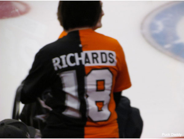 Jersey Fouls: Not feeling Blues; Richards tribute; Wild Frankenjersey