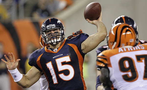 Drew Brees preaches patience with Tim Tebow