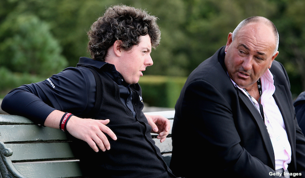Rory McIlroy parts ways with agent Chubby Chandler