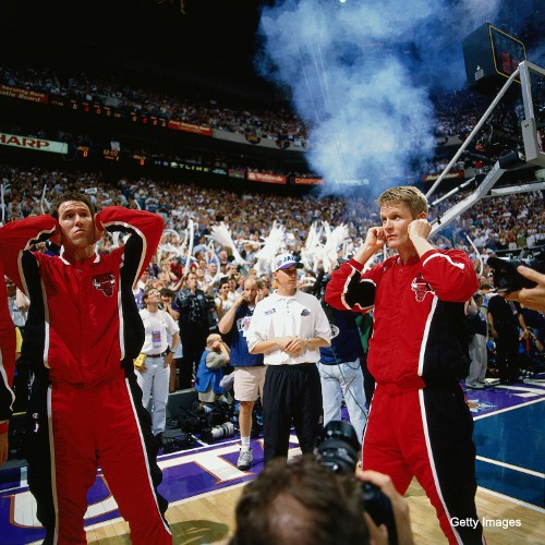 C-a-C Past Lives: Jud Buechler and Steve Kerr have heard enough