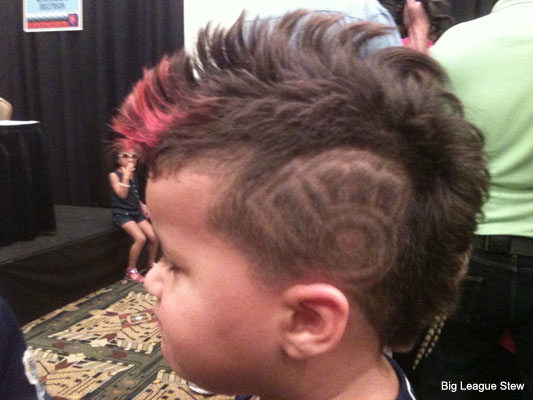All-Star photo: Prince Fielder's son has Brewers on brain