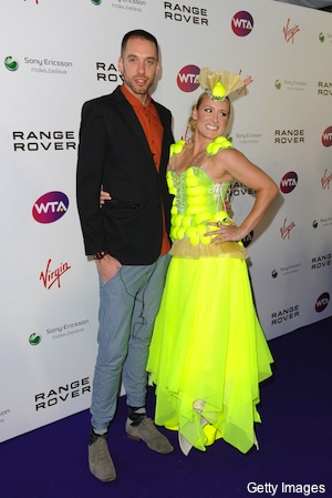 Mattek-Sands is seeded at Wimbledon and dressed like Lady Gaga