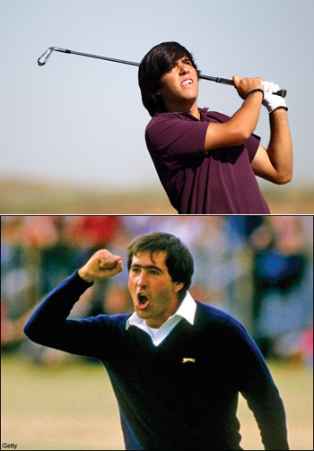 Seve Ballesteros' son will make his European Tour debut in 2012