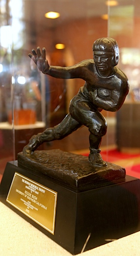 Does anyone want Reggie Bush's orphaned Heisman Trophy?