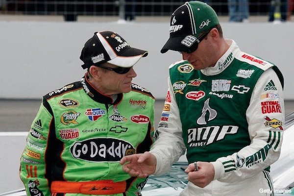 Dale Earnhardt Jr. unhappy with Mark Martin after Michigan